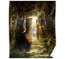 """""""A Knock at the Door"""" - Illustration Poster"""