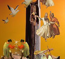 Tower Stick by Carol-Anne Kozik