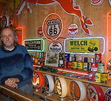JohnnieV - Route 66 Legend by Mitchell Tillison