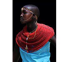 SAMBURU LADY - KENYA  Photographic Print