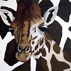 Giraffe on Giraffe by Sooty6