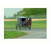 Country Ride Art Print