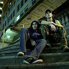 Dave & Johnny by Robert Knapman