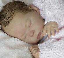 Reborn Girl doll by Cassie Peek