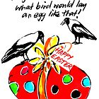 HAPPY EASTER ROGER'S RED EGG by Jane  Kempe