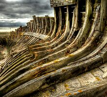 Dead boat skeleton by Craig S. Sparks