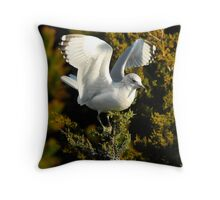 Web Footed Tree Topper Throw Pillow