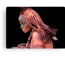 HIMBA GIRL - NAMIBIA Canvas Print