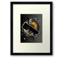 Grunge Background Framed Print