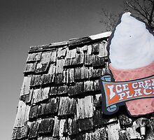 'Ol Ice Cream Shop by ckroeger