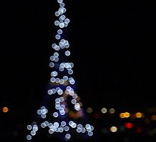 Eiffel Tower from Arc de Triomphe by bambam775