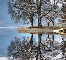 Loch Ard Reflections by Empato Photography