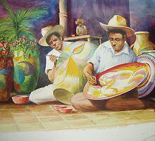 Pottery  artists by charleshetenyi