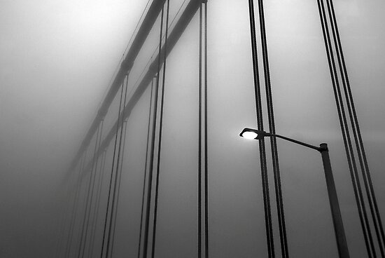 Bridge in Fog by Mary Ann Reilly