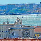 Lisbon. Tejo river view from the Castle by terezadelpilar~ art & architecture