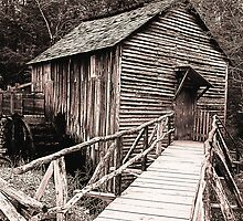 The Cable Grist Mill by A Different Eye Photography