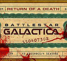 Battlestar Galactica Death Certificate by campphotoshop