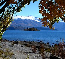 Autumn Time, Lake Wanaka, New Zealand by stevealder
