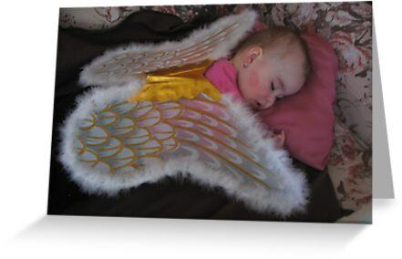 SLEEPING ANGEL # 1 by gypsykatz