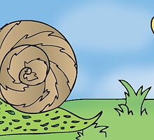 Angry Snail by Playmate