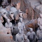 The terracotta army by Matthew Bonnington