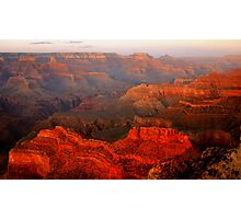 Grand Canyon Sunset From Hopi Point Photographic Print