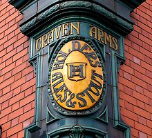 Craven Arms Pub Sign by Ian Reeley