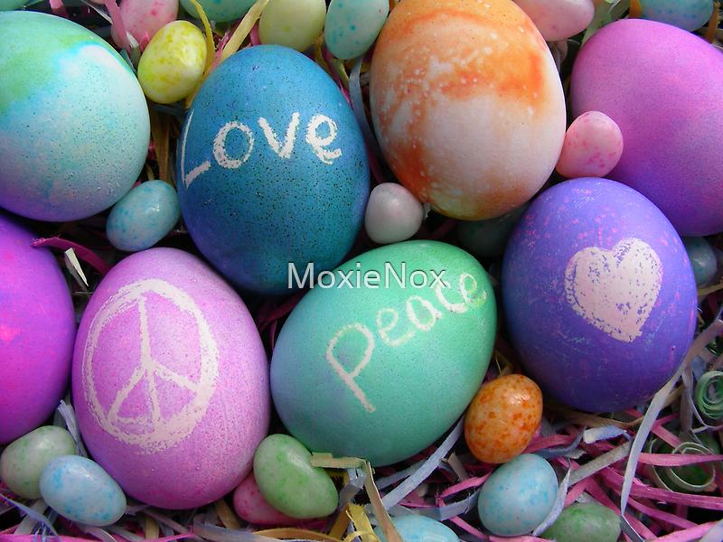 Peace Eggs by MoxieNox
