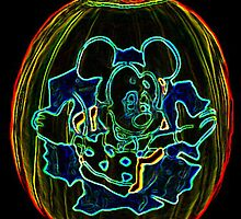 Mickey Mouse pumpkin by terrebo