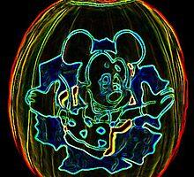 Mickey Mouse pumpkin by terrebo