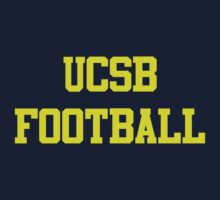 UCSB FOOTBALL by Pacifico