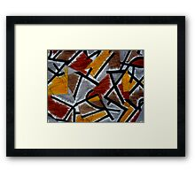 Abstract Leger Framed Print