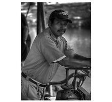 Boatman in Belize by JohnDoe6