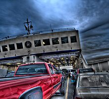 Red Truck on the Ferry by toby snelgrove  IPA