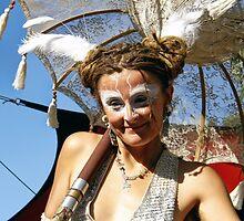 Performers   Stilt Walkers @ Rainbow Serpent Festival 2009 by OZDOOF