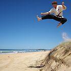 Beach Ninja[colour] by kristy m