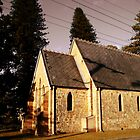 All Saints Church by reflector