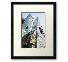 Chrysler Building New York Framed Print