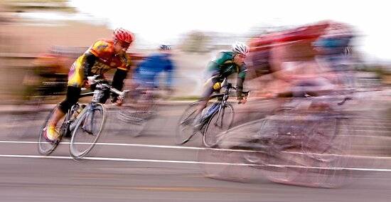 One Lap to Go! by Buckwhite