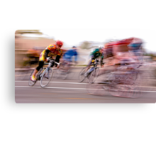 One Lap to Go! Canvas Print