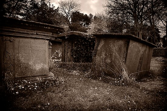 Village Churchyard by Paul Woloschuk