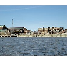 NWSW Steel Mill Photographic Print