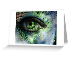 her mind's eye Greeting Card