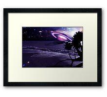 Cosmic Shore Framed Print
