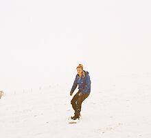 Snowboarding Walkies by Dan Francis