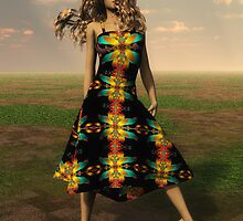 LjMaxx' Fractal Dress by Syd Baker