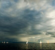 Sailing boats by mrfotos