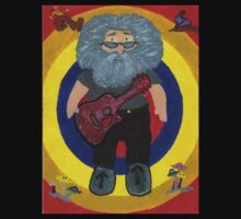 Jerry Garcia Doll by Carol Megivern