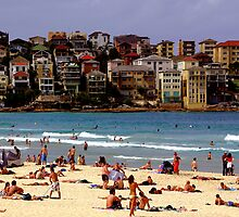 Bondi Beach by John Mitchell