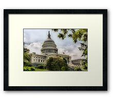 Beauty & Deficit  Framed Print